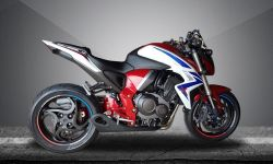 Escapamento Esportivo CB 1000R 12 a 16- Firetong Willy Made