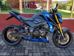 Escapamento Esportivo Gsx-s 750 Firetong Willy Made Full