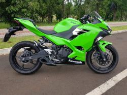 Escapamento Ninja 400 Firetong Willy Made Full System 2x1