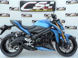 Escapamento GSX-S 1000 17 a 20 Cs Racing Full system 4x1