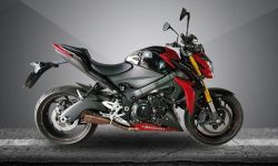 Escapamento Gsx-s 1000 Firetong Flame  Full System 4x1