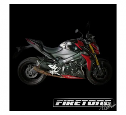 Escapamento Gsx-s 1000 Firetong Flame 2  Full System 4x1