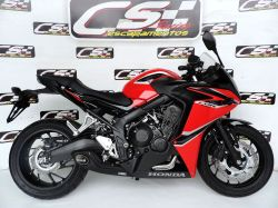 Escapamento CBR 650F 15 a 19  Cs Racing Full System