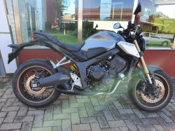 Escapamento esportivo CB 650R 20 a 21 Firetong Willy Made Full