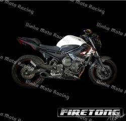 Escapamento XJ-6  Firetong Willy Made Full System