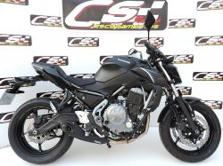 Escapamento Z 650 17 a 21 Cs Racing Full System
